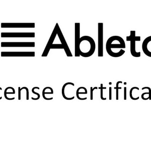 Ableton_License_Certificate
