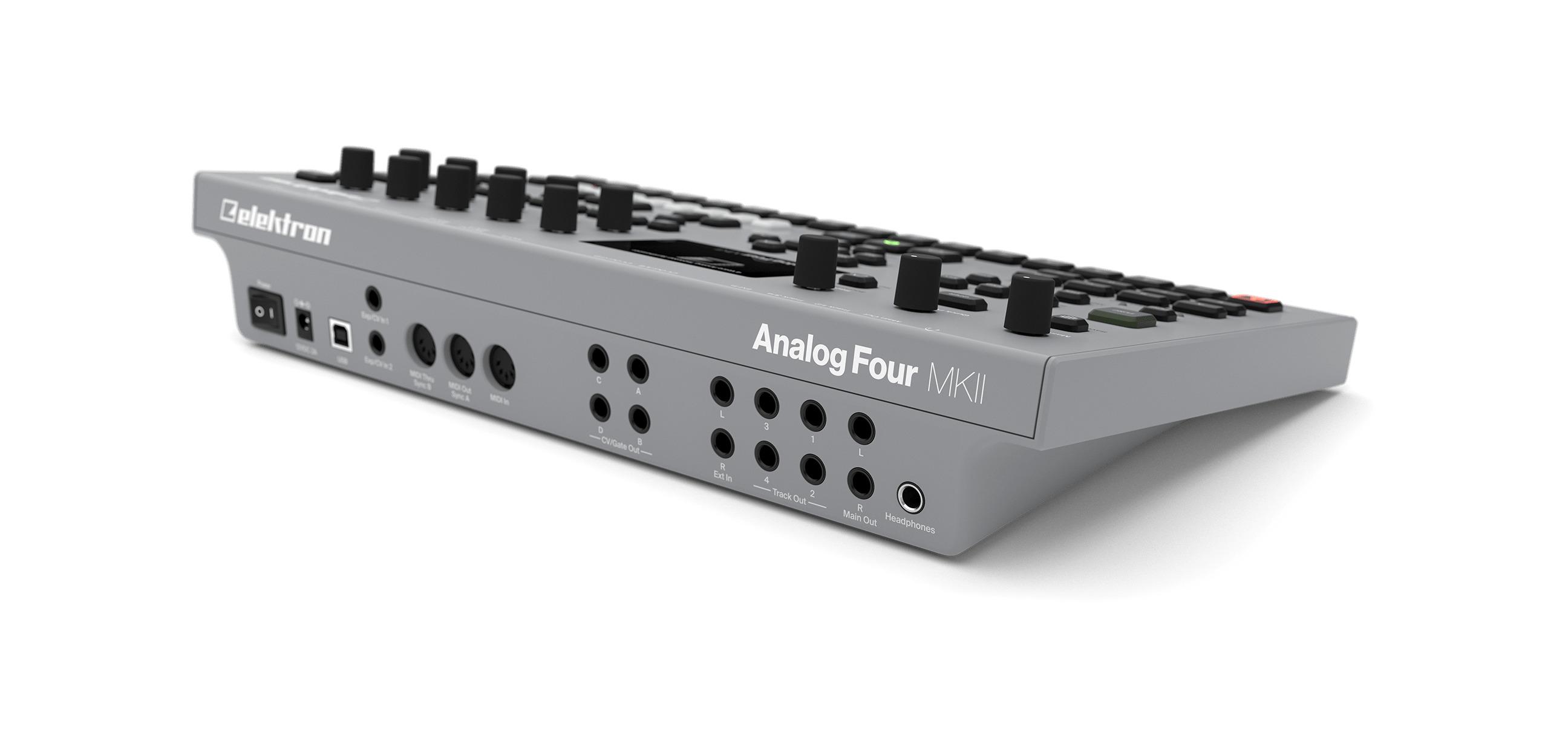 elektron analog four mk2 loops bits modular dj und studio equipment. Black Bedroom Furniture Sets. Home Design Ideas