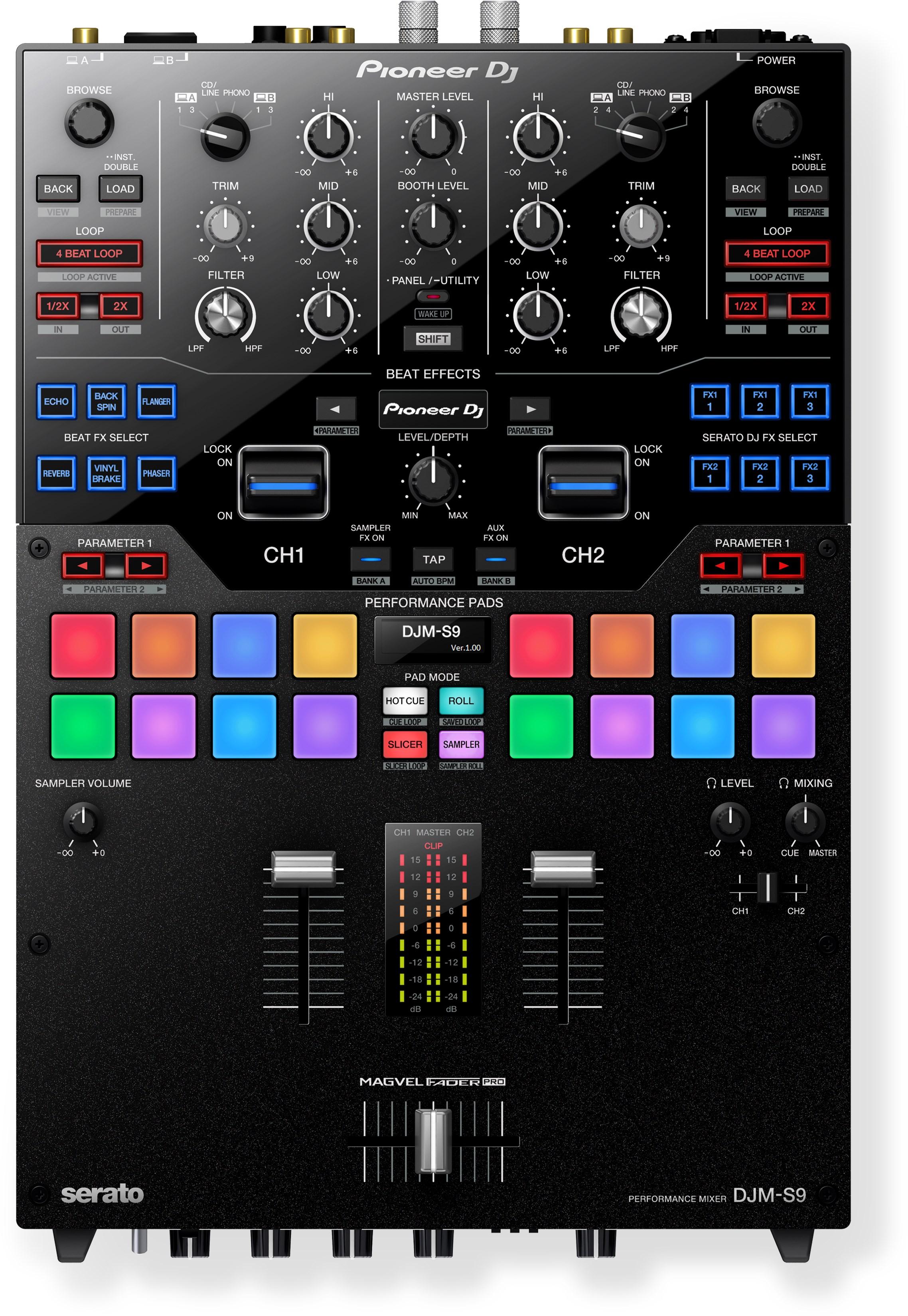 Pioneer Djm S9 Loops Bits Modular Dj Und Studio Equipment Numark Mixtrack Pro Wiring Diagram Chf 1859